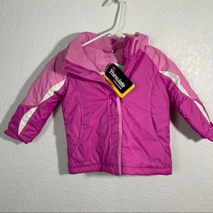 NWT L.L. Ban Pink 4T Winter Snow Coat